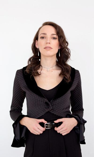 Boléro Adélaïde | designer québécois en ligne - vêtements femme - Monarcky