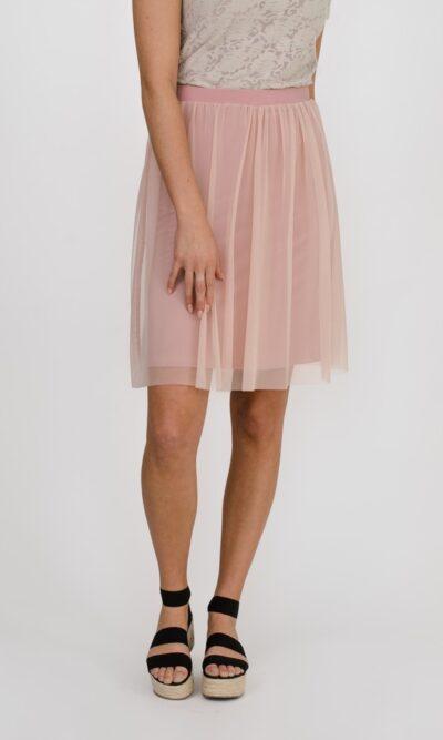 Jupe Arégonde Rose Fleur - designer québécois - boutique en ligne vêtements femme - Monarcky