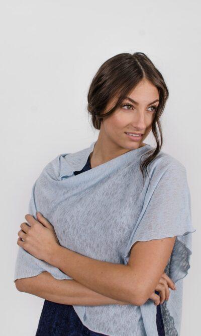 Châle pour femme | Designer de mode québécoise en ligne | Monarcky