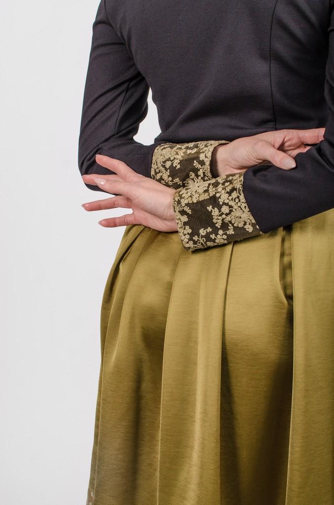 Chandail Mary noir profond - designer québécois - boutique en ligne vêtements femme - Monarcky
