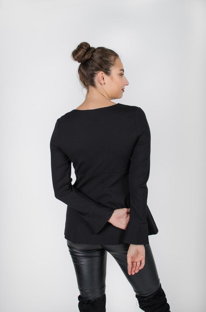 Haut Alexane Nois profond - vêtements pour femmes - designer Montréal - Monarcky