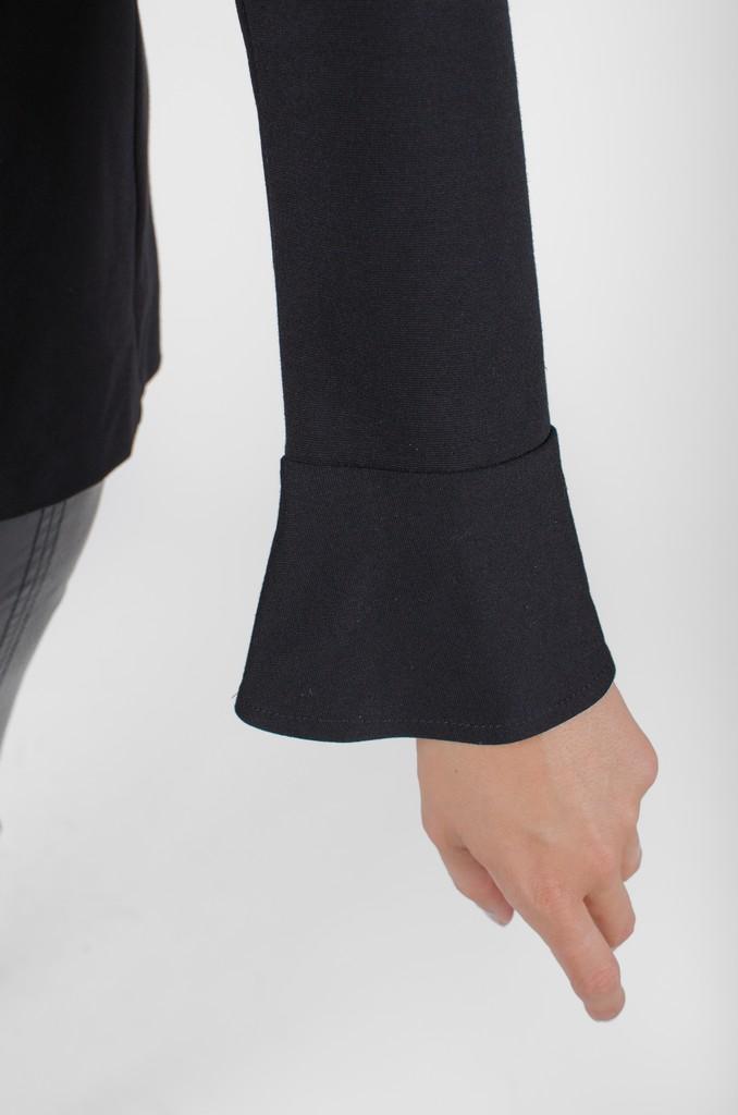 Haut Alexane Nois profond - vêtements femme en ligne - designer québécois mode - Monarcky