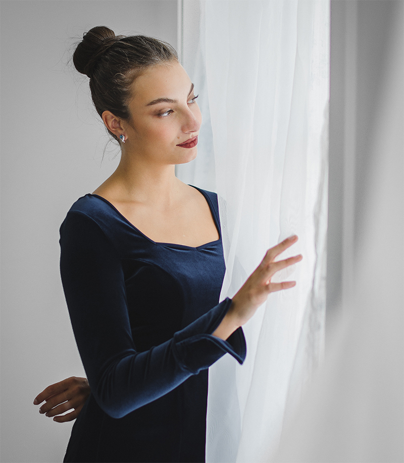 Haut Charlotte - Designer Vêtements Femme - Québec - Monarcky