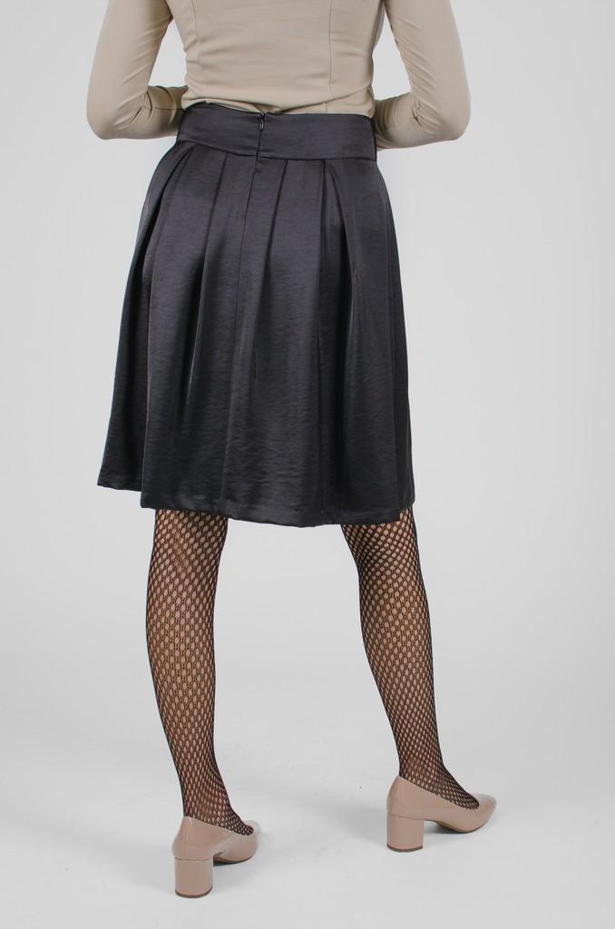 Jupe Alice II noir profond - vêtements femme en ligne - designer québécois mode - Monarcky