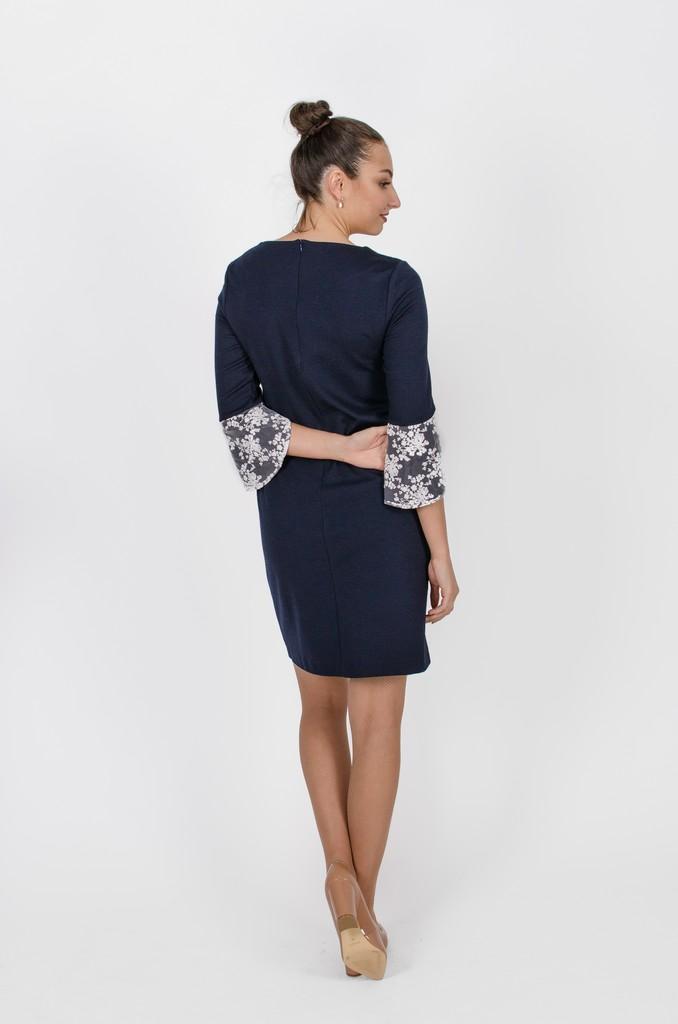 Robe Margaret bleu symphonie - vêtements femme en ligne - designer québécois mode - Monarcky