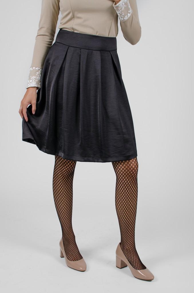 Jupe Alice II Noir Profond - designer québécois pour femme - boutique en ligne - Monarcky