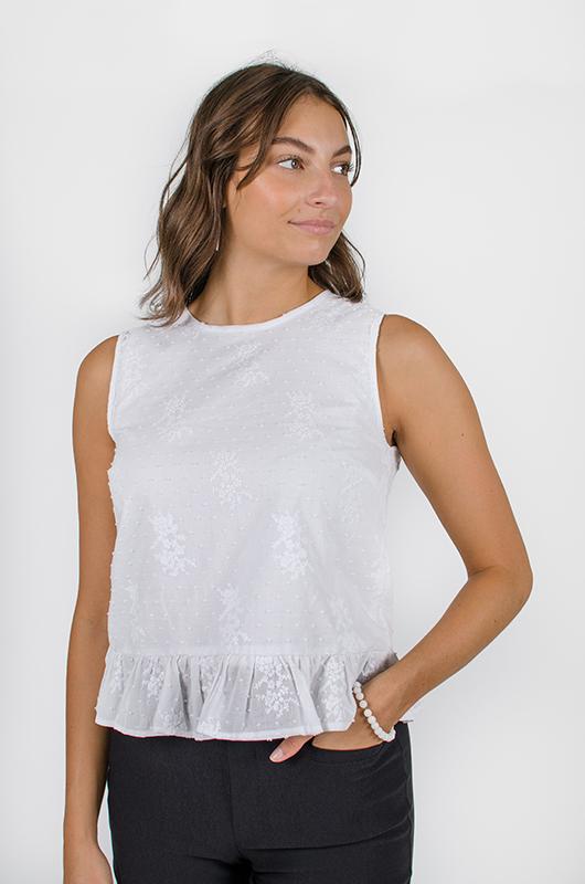 Haut Désirée - Designer de mode pour femme - Boutique en ligne - Monarcky 2